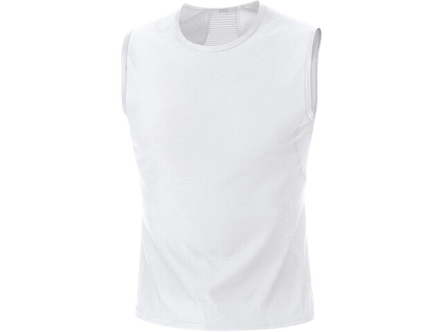 GORE WEAR M Base Layer Sleeveless Top Men white